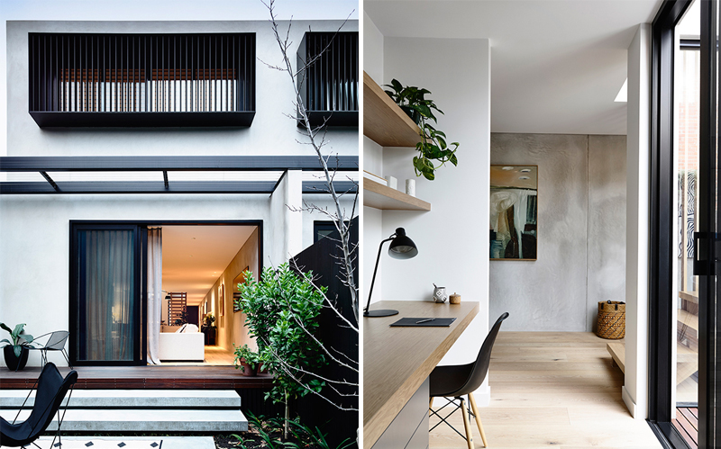 Minimal - Elwood Townhouse photographed by Derek Swalwell