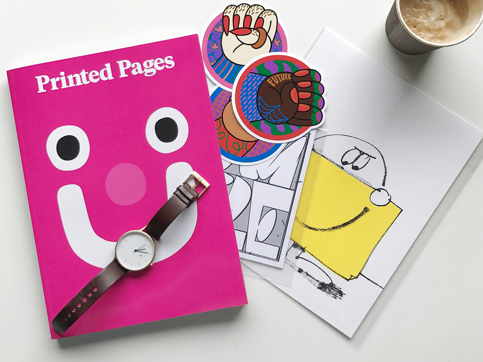 Printed Pages by It's Nice That | Image Courtesy of MANimalist